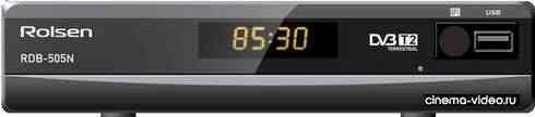 Приемник цифрового ТВ Rolsen RDB-505N