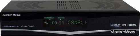 Спутниковый ресивер Golden Media UNI-BOX 9080 CRCI HD PVR Combo